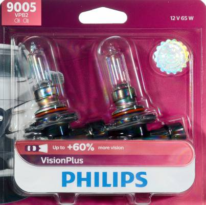 Headlight Bulb-Vision Twin Blister Pack Philips 9006PRB2