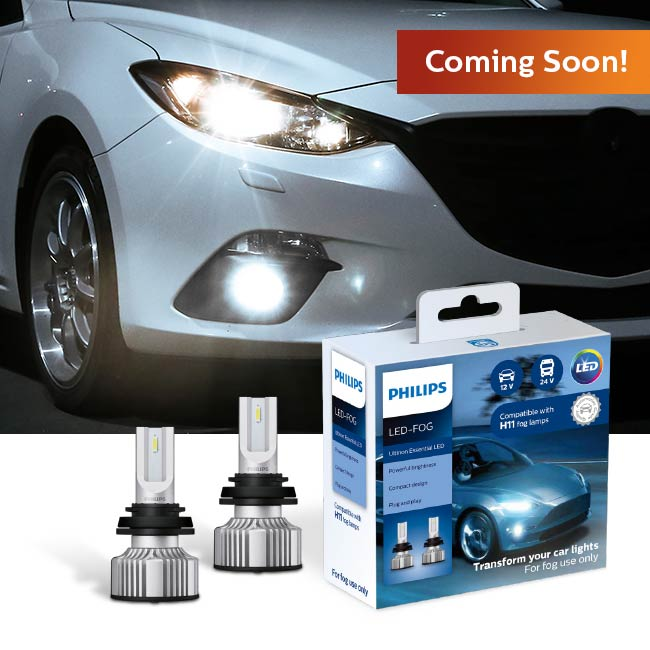 Philips Ultinon Essentials LED Fog Lights